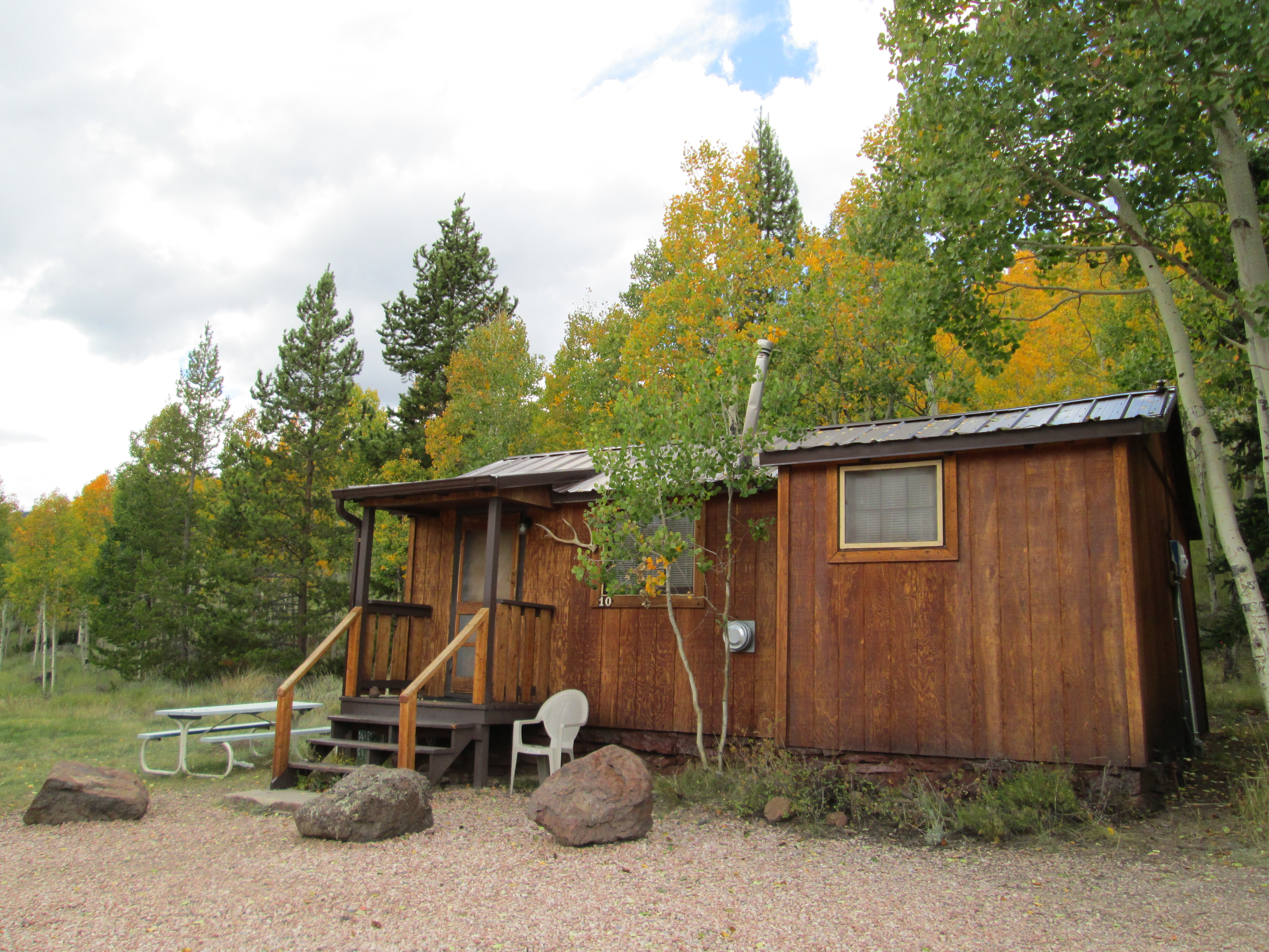camping national valley station recreation forest recarea in pine cabins utah guard dixie